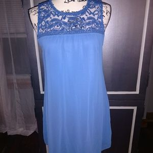 Lily Star Blue Dress